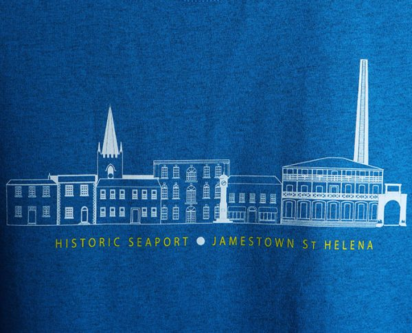 St Helena Seaport t-shirt design