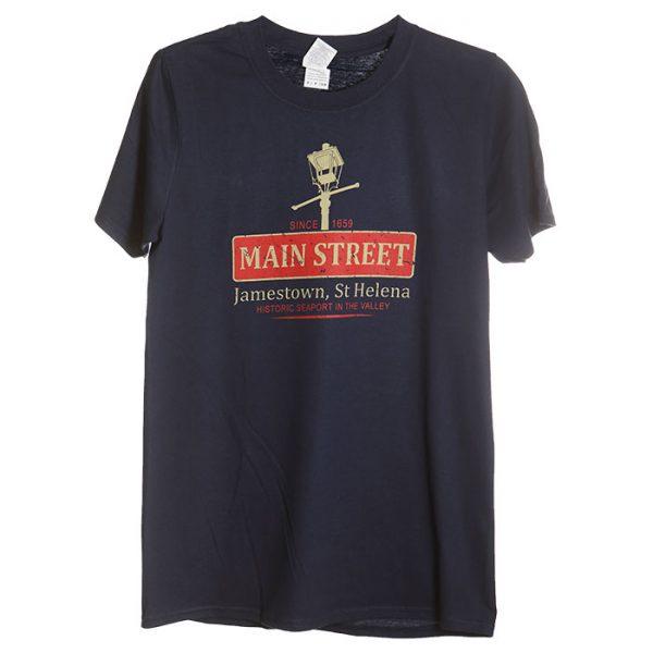 Men's St Helena NOLA t-shirt navy